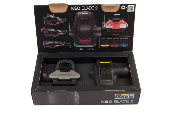Look, Keo 2 max blade