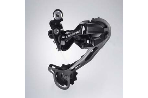 Shimano Bagskifter Deore M592 Shadow 9-sp Sort Long Cage