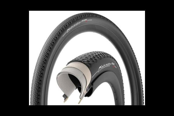 Pirelli graveldæk, Cinturato Gravel, hard Black 622x40