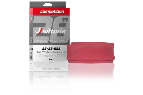 "Vittoria Competition Latex slange, 28"" 30/38-622"