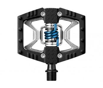 Pedaler CRANKBROTHERS Double Shot Grey/black/blue
