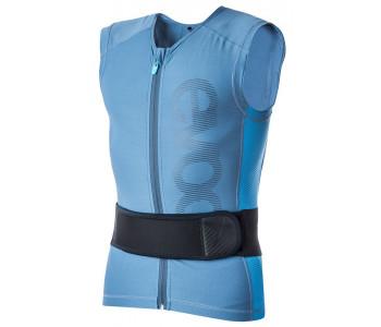 EVOC Protector Vest Lite, lys blå rygskjold med justerbar ryg