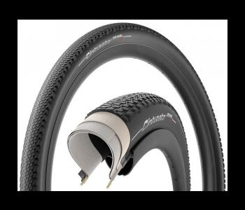 Pirelli graveldæk, Cinturato Gravel, hard Black 622x40, 2 stk. + Vittoria Competition latex slange 2 stk.
