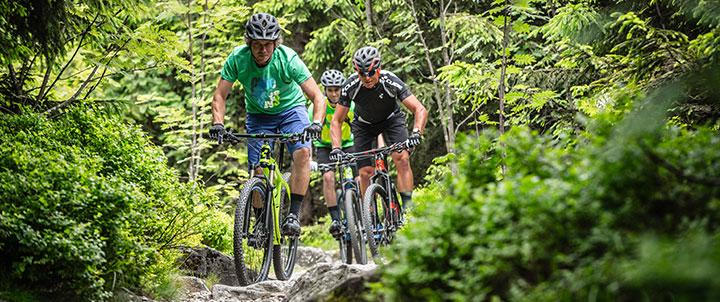 Oplev skoven fra en ny vinkel på mountainbike